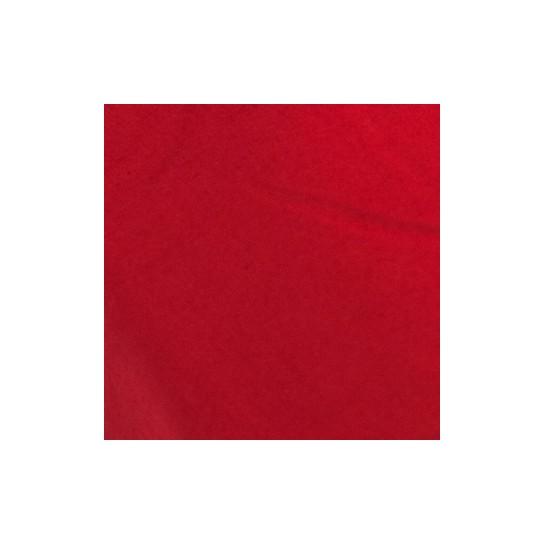 Drap housse percale Rouge