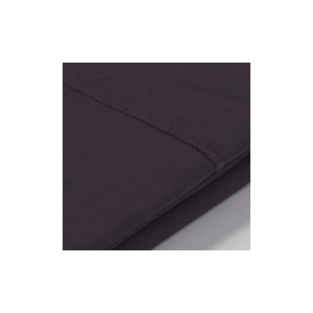 taie d 39 oreiller percale aubergine. Black Bedroom Furniture Sets. Home Design Ideas