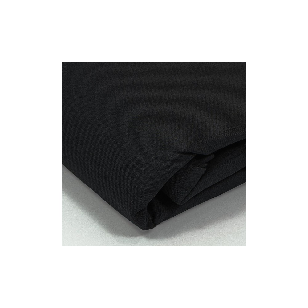 taie d 39 oreiller percale noir. Black Bedroom Furniture Sets. Home Design Ideas