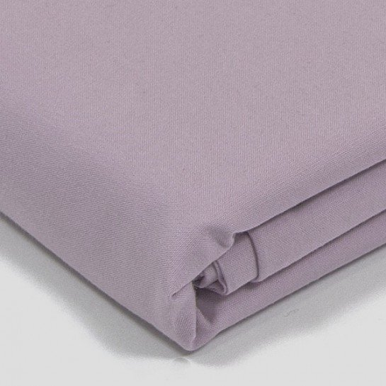 Taie d'oreiller percale Vieux Rose