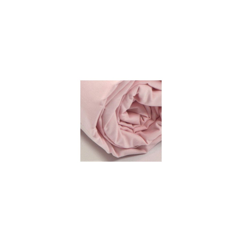 Drap housse uni percale rose for Draps housse percale