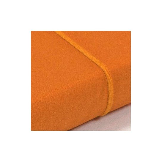 Drap plat percale Orange