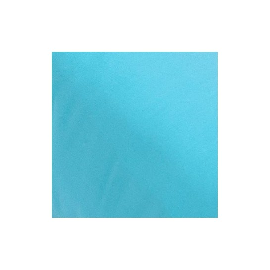 Drap housse percale Turquoise