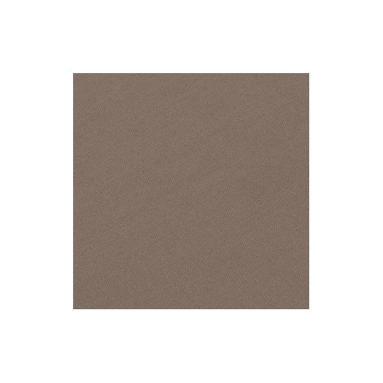 Housse de couette percale Taupe
