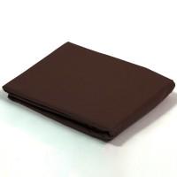 Housse de couette percale Chocolat