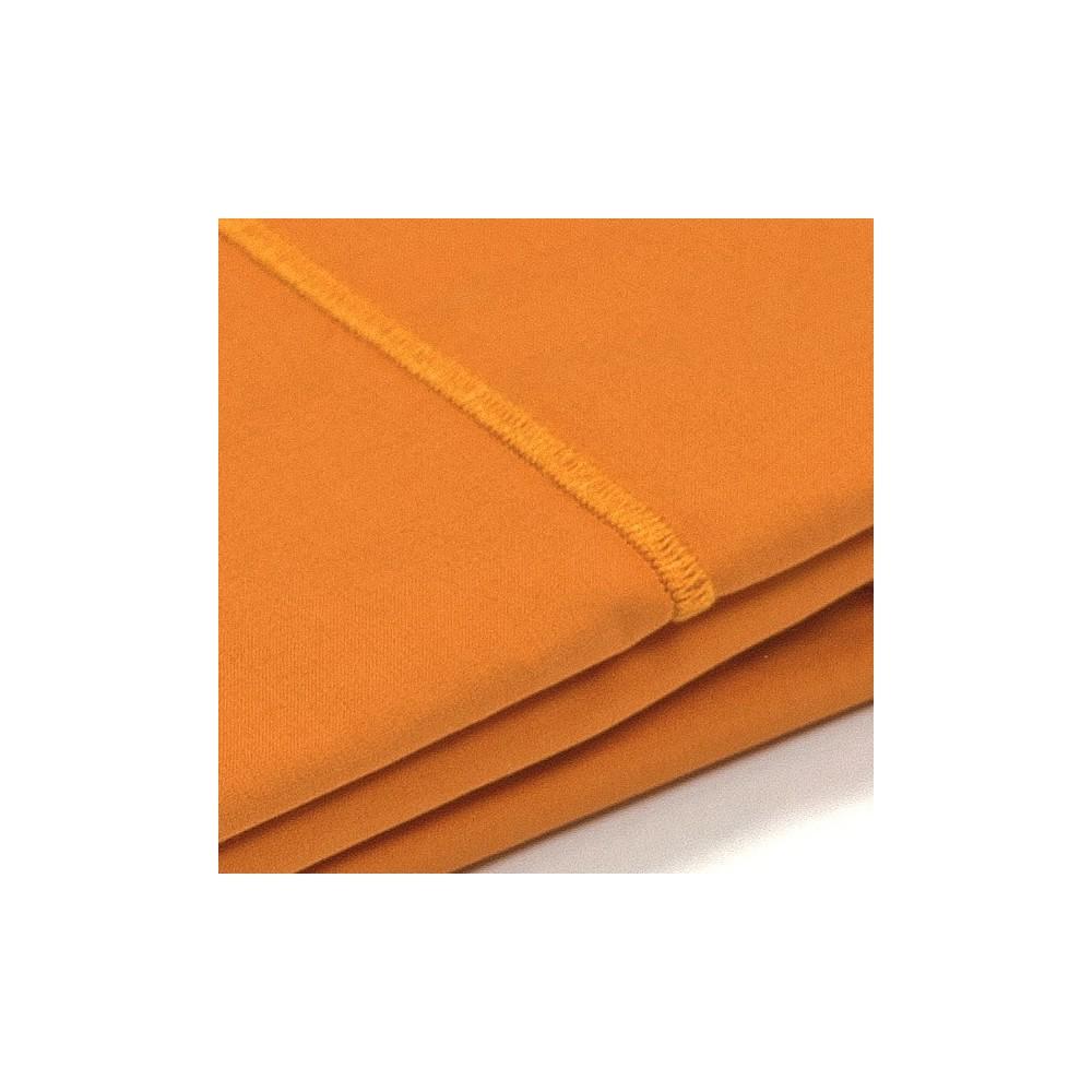taie d 39 oreiller percale orange. Black Bedroom Furniture Sets. Home Design Ideas