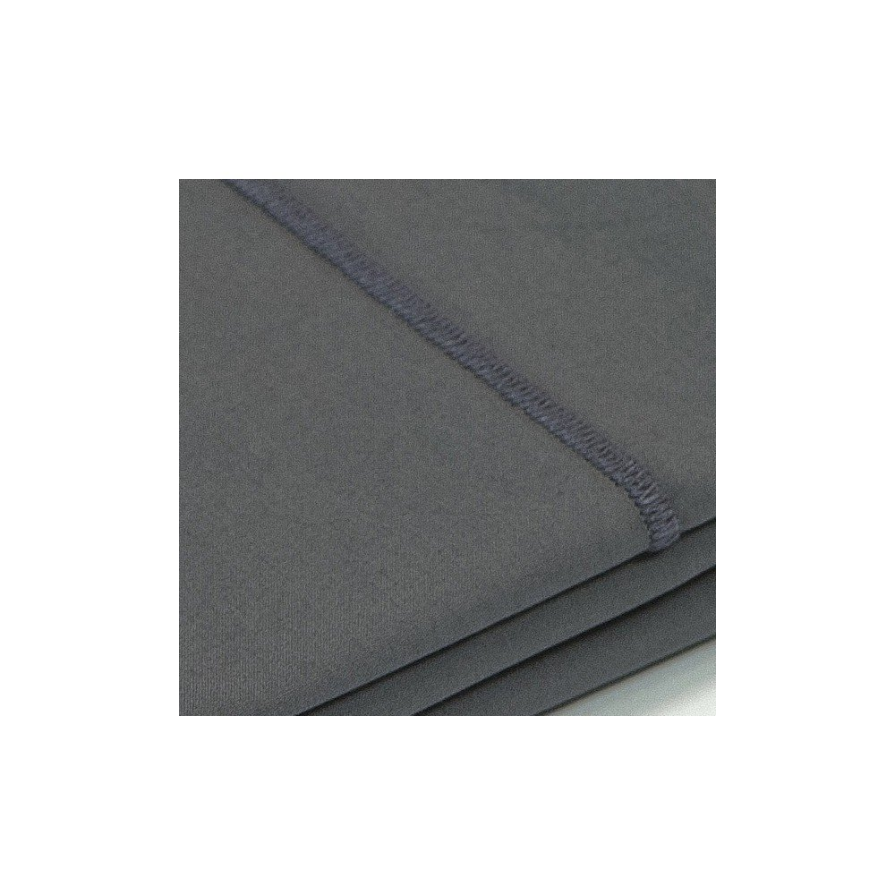 taie d 39 oreiller percale gris. Black Bedroom Furniture Sets. Home Design Ideas