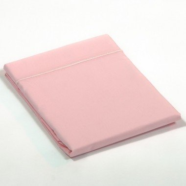 Taie de traversin percale Rose