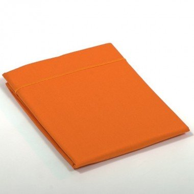Taie de traversin percale Orange