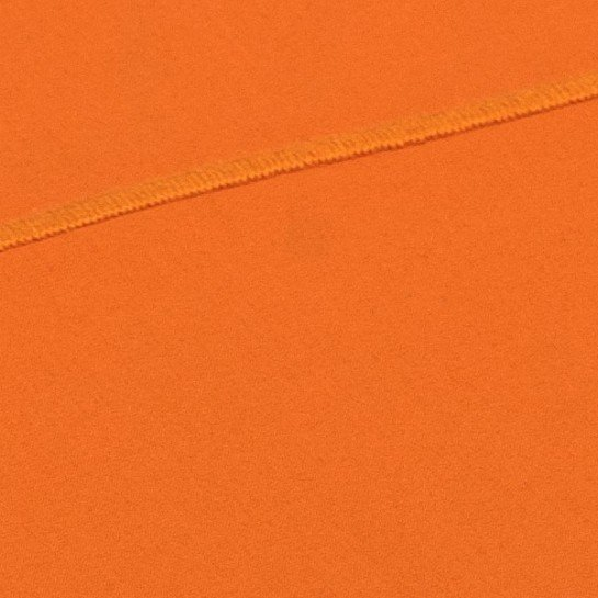 Taie de traversin percale Orange