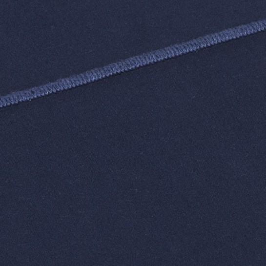 Taie de traversin percale Marine