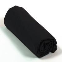 Drap housse percale Noir