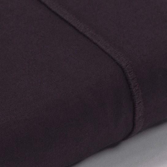 Drap plat percale Aubergine