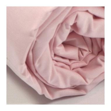 Drap housse percale Rose