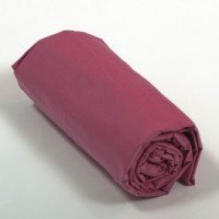 Drap housse percale Framboise