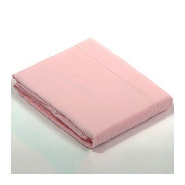 Drap plat percale Rose