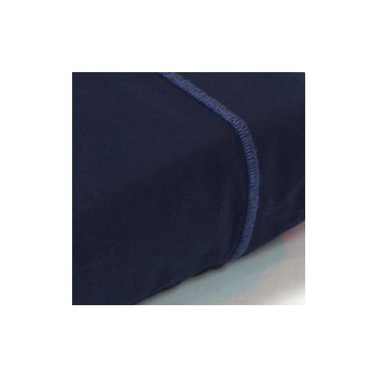 Drap plat percale Marine