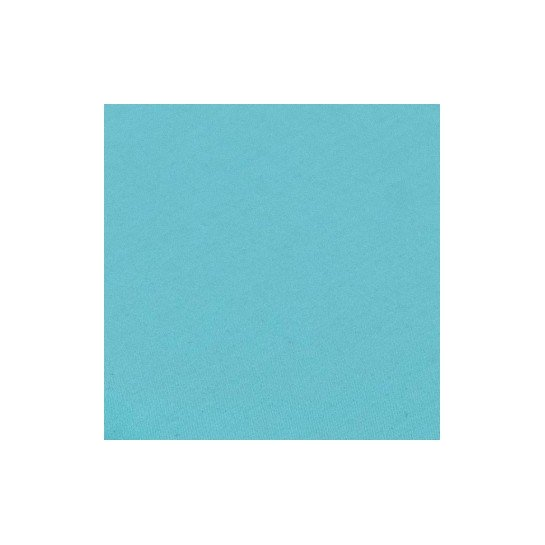 Housse de couette percale Turquoise