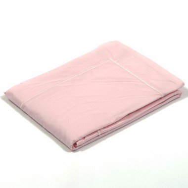 Taie d'oreiller percale Rose