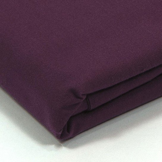 Taie d'oreiller percale Prune