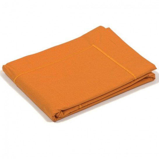 Taie d'oreiller percale Orange