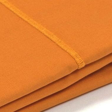 Taie d'oreiller percale Orange