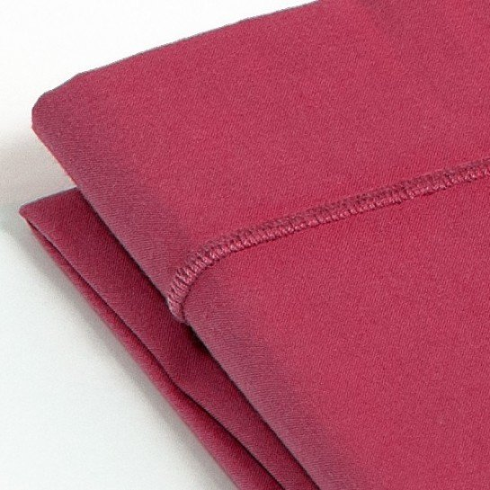 Taie de traversin percale Framboise