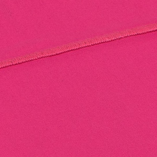 Taie de traversin percale Fuchsia