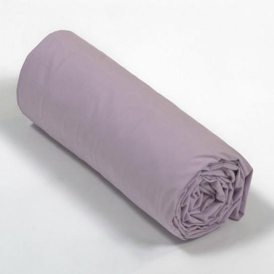 Drap housse percale Vieux Rose